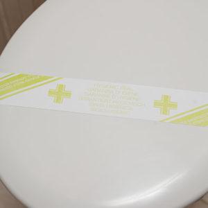 bande hygiene wc - Produit accueil hôtel