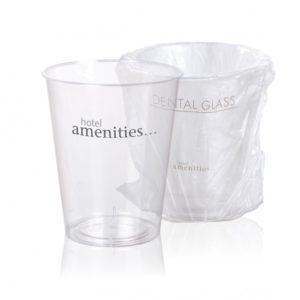 gobelet plastique rigide et son emballage hygiénique