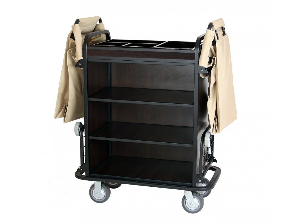 chariot femme de chambre deux sacs welkom tourisme. Black Bedroom Furniture Sets. Home Design Ideas