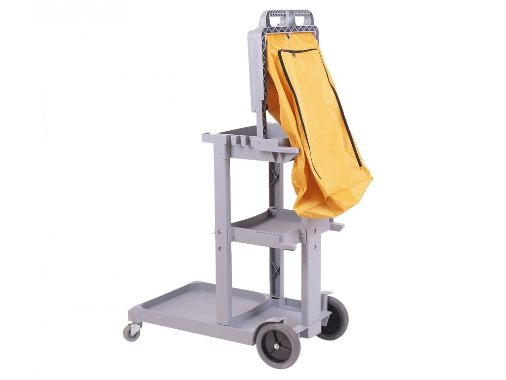 chariot femme de chambre jaune welkom tourisme. Black Bedroom Furniture Sets. Home Design Ideas