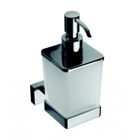 welkom, produits d'accueil pour hôtel, distributeur de savon liquide en verre, carré