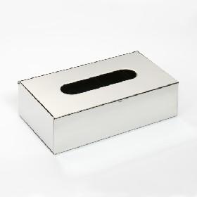 distributeur de Kleenex en inox