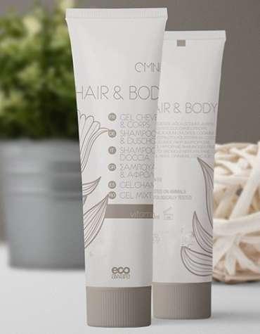 gel douche cheveux et corps à l'extrait du thé vert et vitamine Egel douche cheveux et corps à l'extrait naturel de huile de menthe et vitamine E
