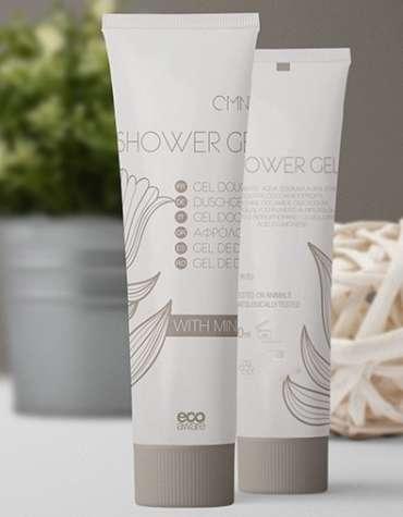 gel douche à l'huile de menthe et vitamine E