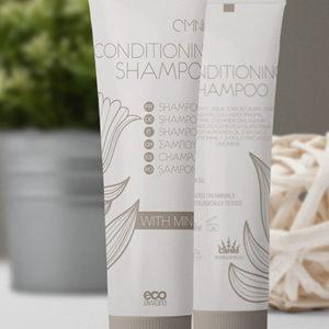 shampooing 2 & 1 à l'huile de menthe et vitamine E