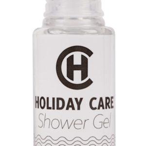 "gel douche bouteille 30 ml ""H"""