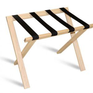 porte bagage naturel bois simple
